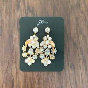 J.crew crystal and stone earring